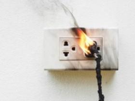 Неисправное электрооборудование – причина пожара